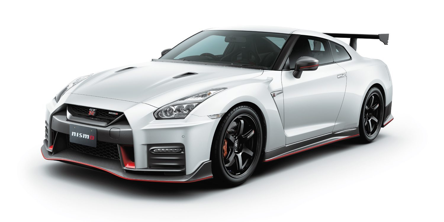 GT-R NISMO Nismo N Attack Package A kit装着車。