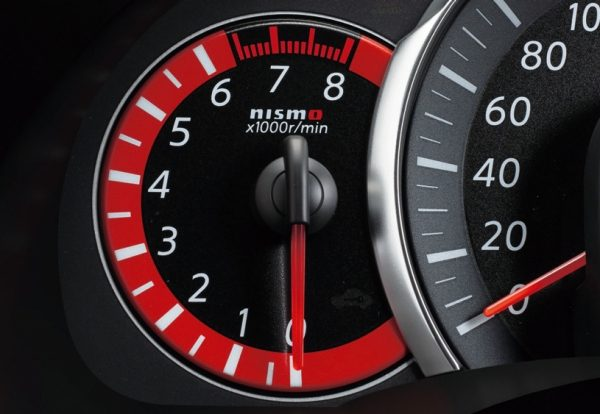 Red Tachometer