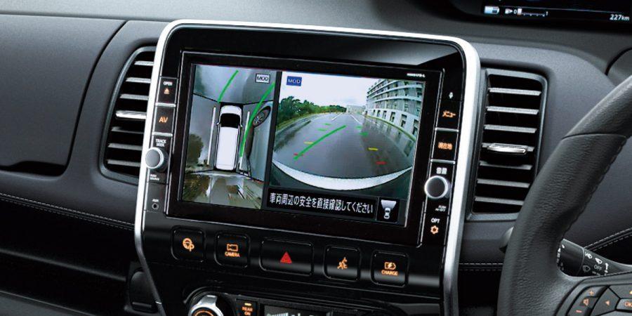 e-POWER車に日産オリジナルナビを装着した場合は、ナビ画面に映像が表示されます。