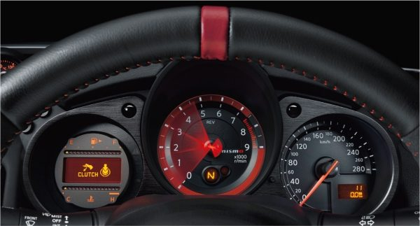 Red Ring Tachometer
