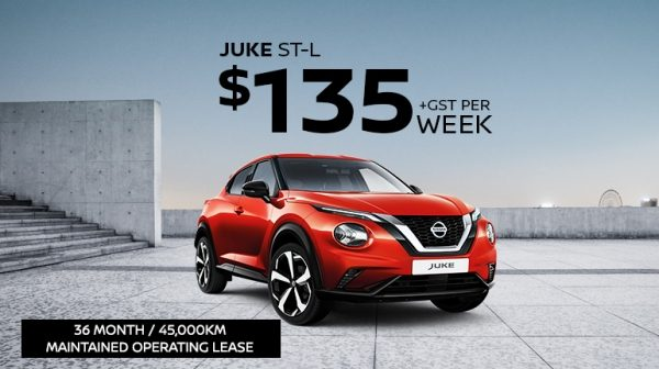 JUKE Fleet Lease Offer