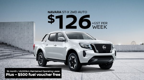 Navara Fleet Lease Offer