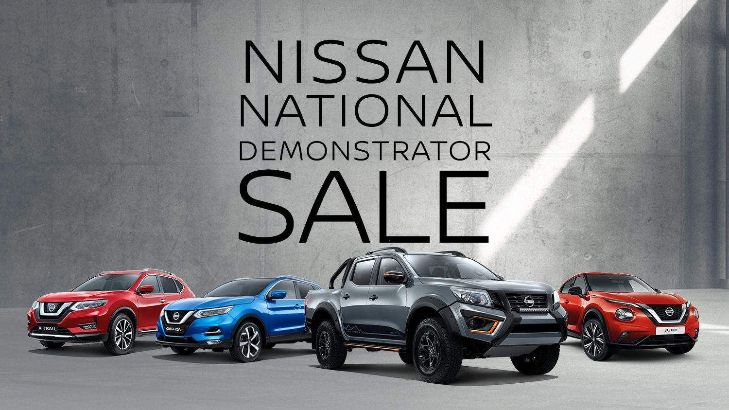 Nissan National Demonstrator Sale
