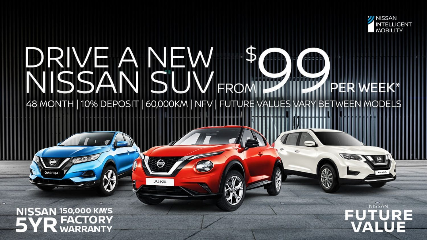 Nissan Future Value SUVs