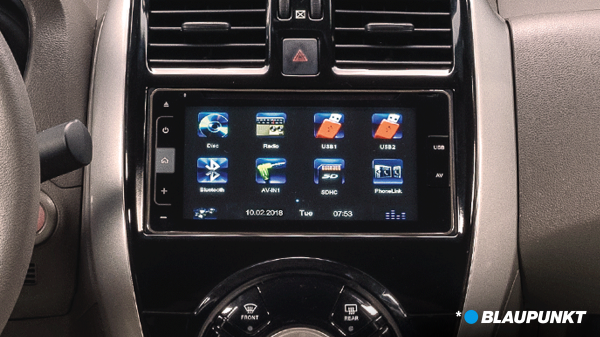 almera n-sport audio display