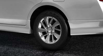 almera n-sport alloy wheels