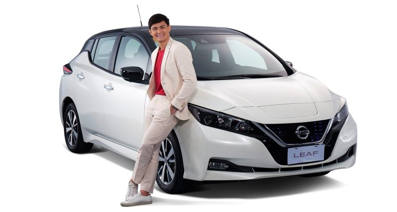 Matteo and the Nissan LEAF