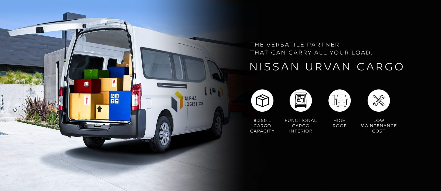 Nissan Business Mobility URVAN CARGO
