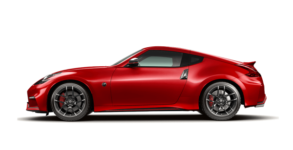 370Z NISMO coupe side profile