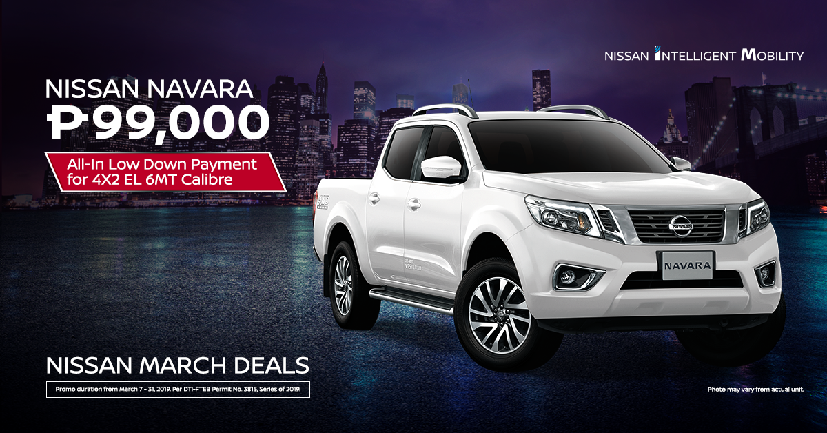 march deals - Navara