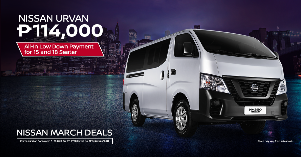march deals - Urvan