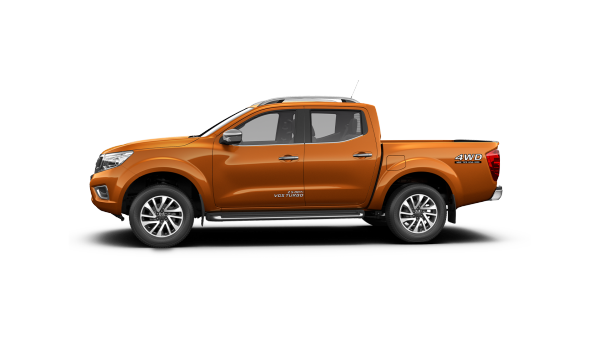 Navara N-TREK Warrior side profile