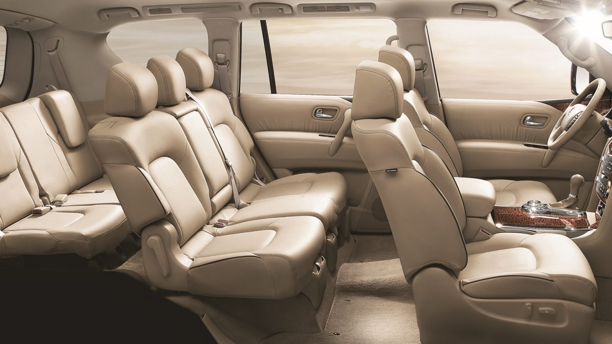 Patrol Interior Seats