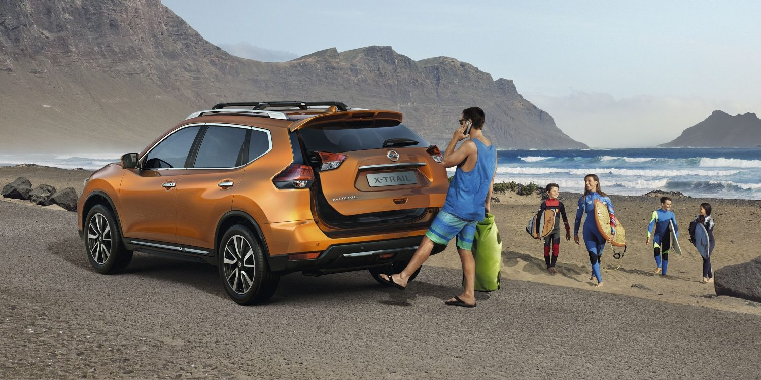 X-Trail Liftgate