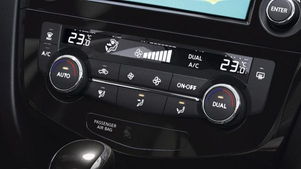 X-Trail Temperature Controls