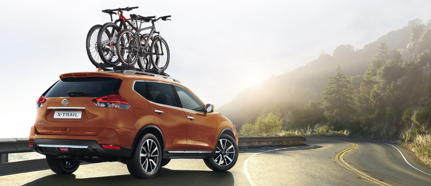 X-Trail with bike