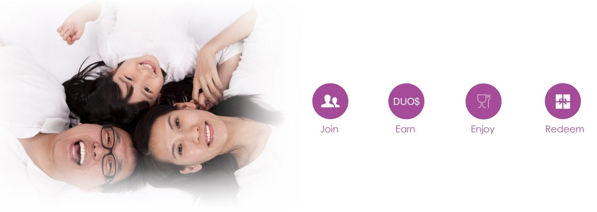Join DUO Rewards, Earn and Redeem Points
