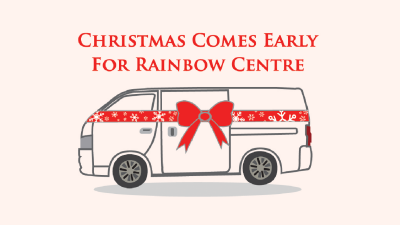 Christmas Comes Early for Rainbow Centre
