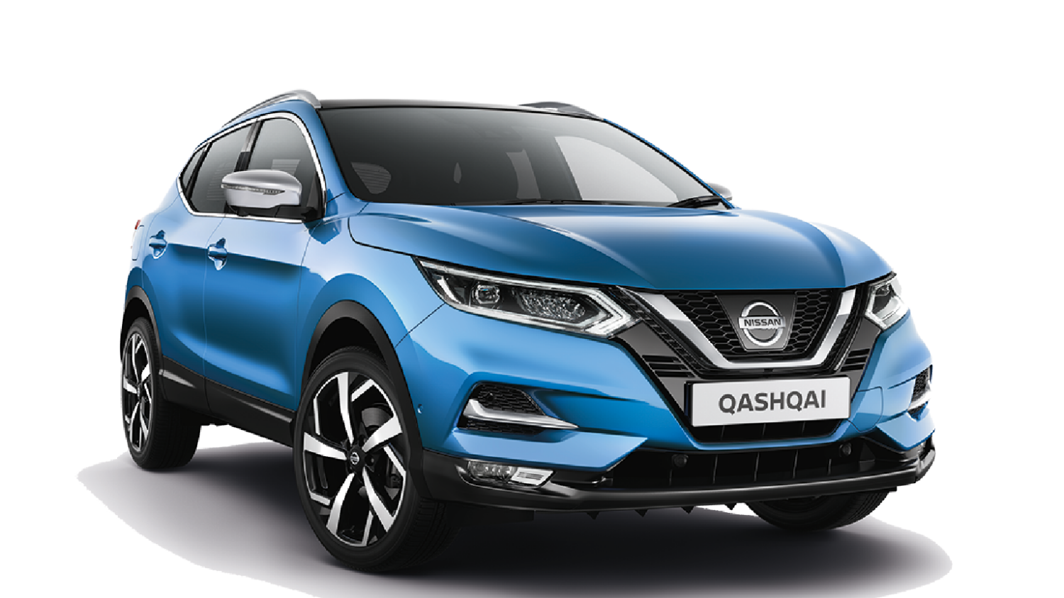 New Qashqai crossover 1.2L turbocharged