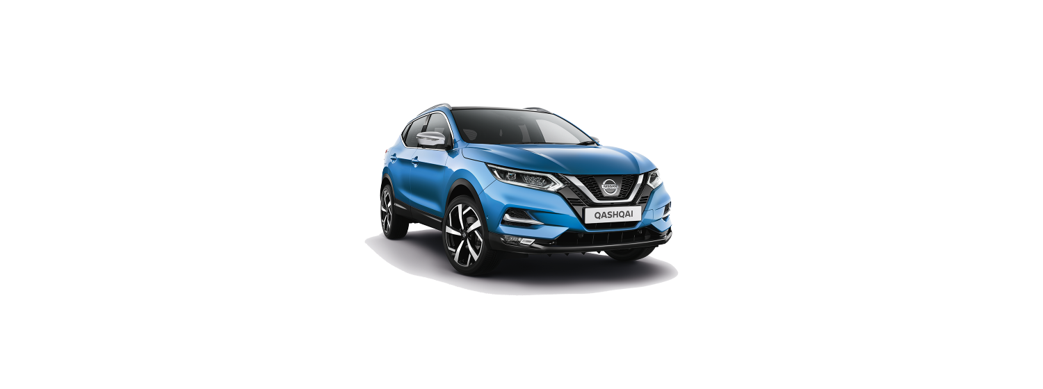 New 2018 Qashqai in Vivid Blue