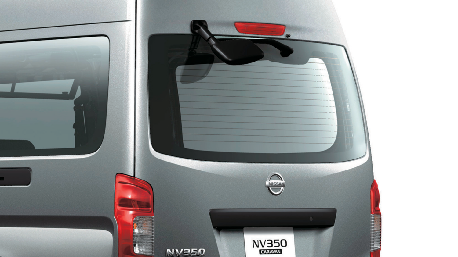REAR UNDER-VIEW MIRROR, REAR WIPER AND DEFROSTERS