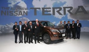 Nissan's all-new Terra debuts in Thailand