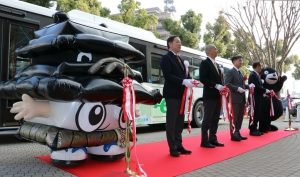 Nissan LEAF technology to be used in electric bus test in Japan