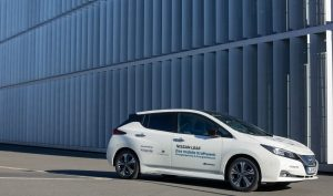 Nissan LEAF to help stabilize German electricity grid