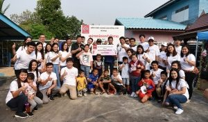 Children's Day, Nissan donated outdoor fitness equipment to the community