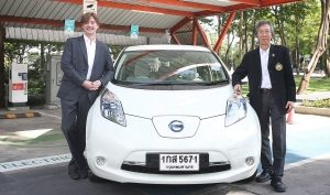 Nissan and King Mongkut's University of Technology Thonburi pave the way for a more electric future