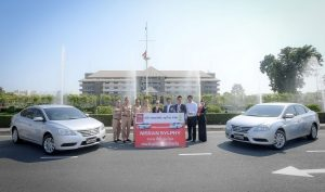 Nissan delivers 60 Nissan Sylphy to Naval Transportation Department