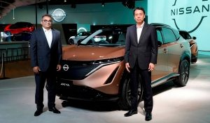 Nissan introduces the Ariya, a 100% electric crossover