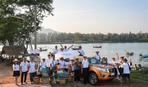 "Thai students see sustainability in action with Nissan's ""Honor the King's Legacy"" project"