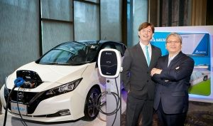 Nissan showcases electrification strategy