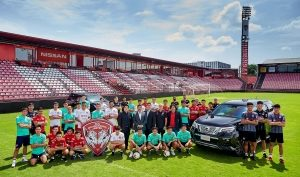 Nissan supports Thai Premier League restart with Muangthong United F.C. partnership