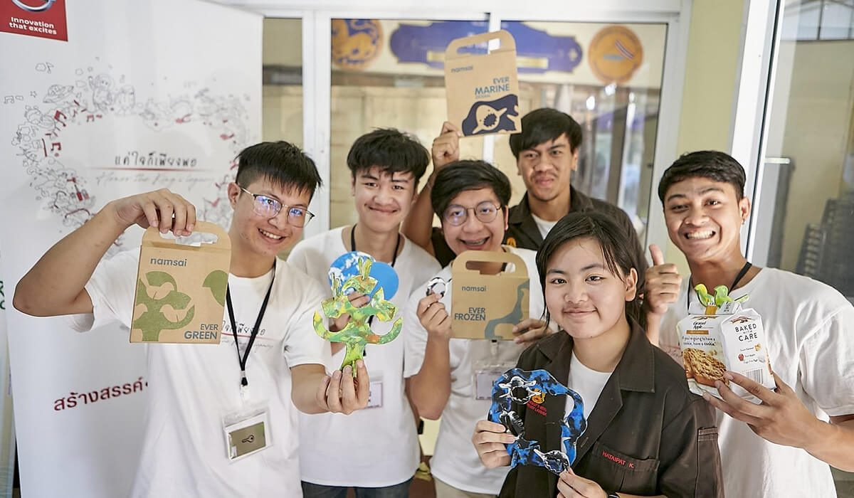 'Sai Craft' is the living accessories brand created by second runner-up 'The Kaelb Craft' team from King Mongkut's Institute of Technology Ladkrabang