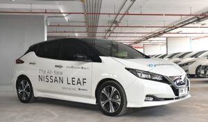 NISSAN THAILAND DELIVERS 24 NISSAN LEAF TO MEA TO SUPPORT ELECTRIFICATION