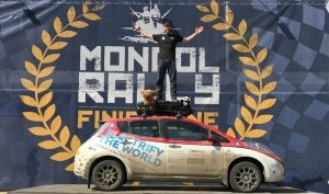 Plug In Adventures becomes first team to complete epic Mongol Rally