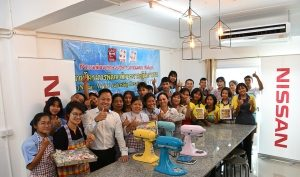 Rayong students learn entrepreneurial skills under Nissan Thailand's
