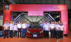 Thailand production and Christmas day customer delivery for all-new Nissan Almera