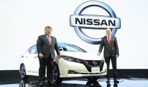 The all-new Nissan LEAF makes its local debut, bringing world-class innovation to electrifying Thailand