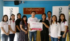 Nissan supports Phayathai Babies' Home to provide care for young orphans