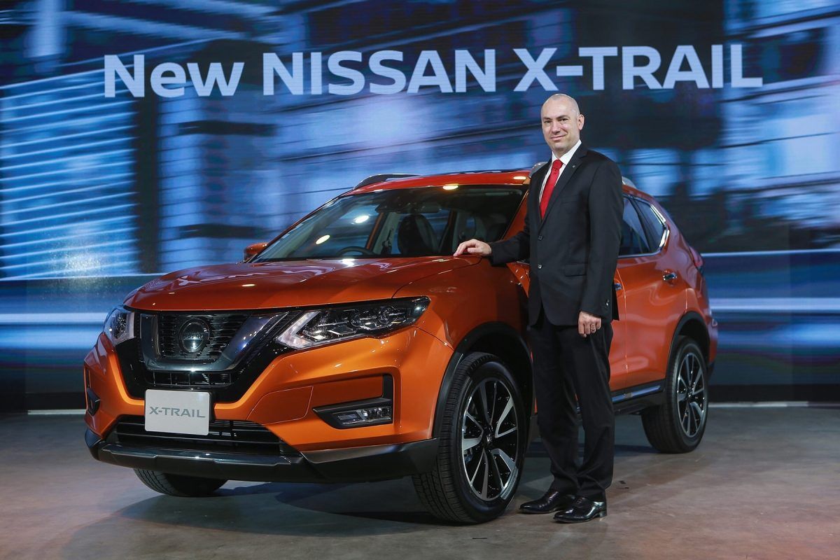 Nissan launches the new X-Trail in Thailand