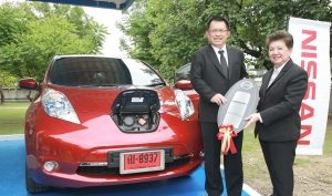 World Best Selling Nissan Leaf to be Showcased at Thailand Automotive Institute's EV Technology and Innovation Learning Center