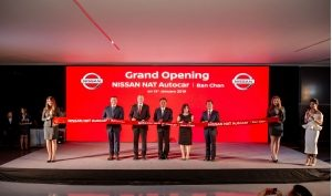 First Nissan Retail Concept showroom Northeast Thailand open for customers