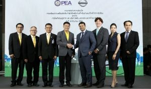 Provincial Electricity Authority and Nissan ink partnership