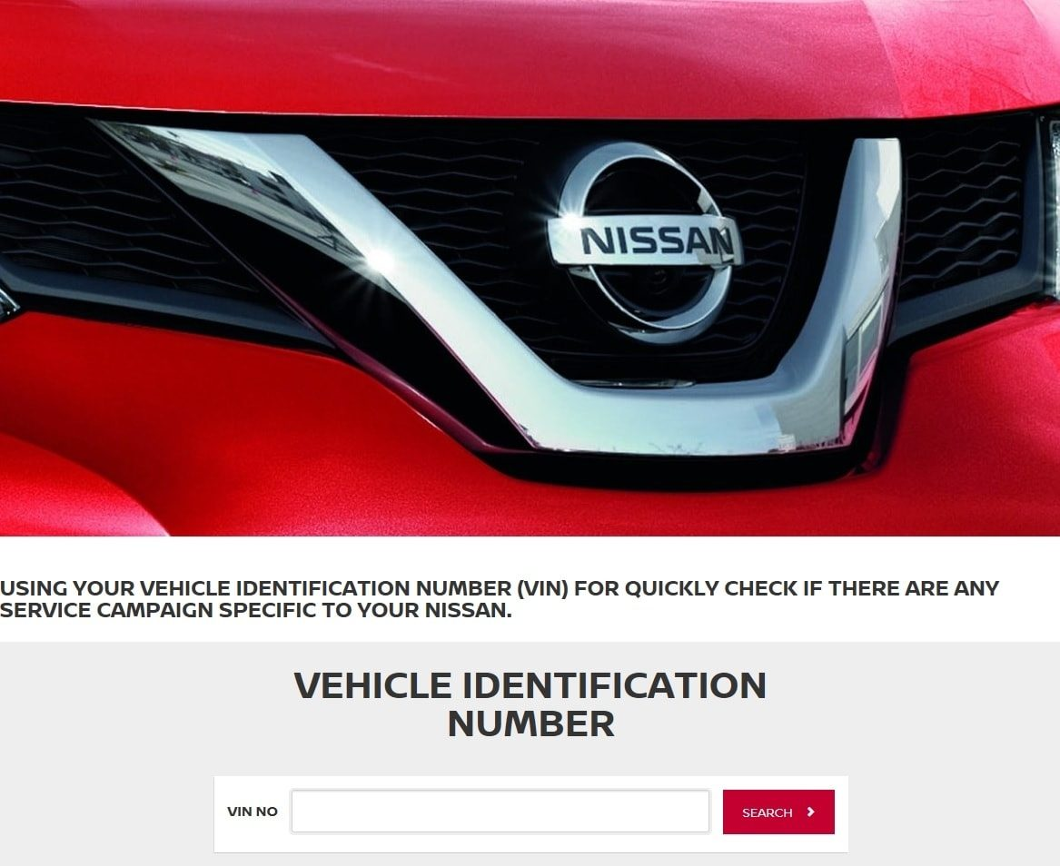 Nissan launches online Service Campaign Lookup fos customer\'s ...