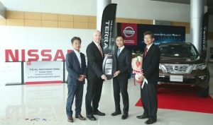 The 1st Thai Customer Takes Delivery of All-New Nissan Terra