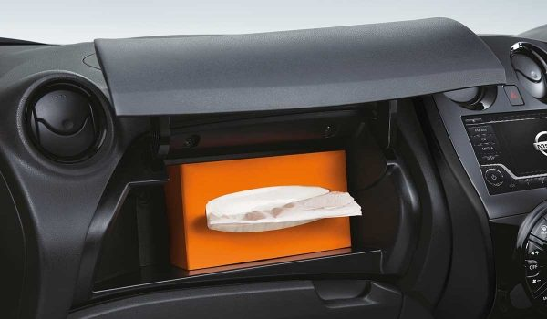 Front glove compartment
