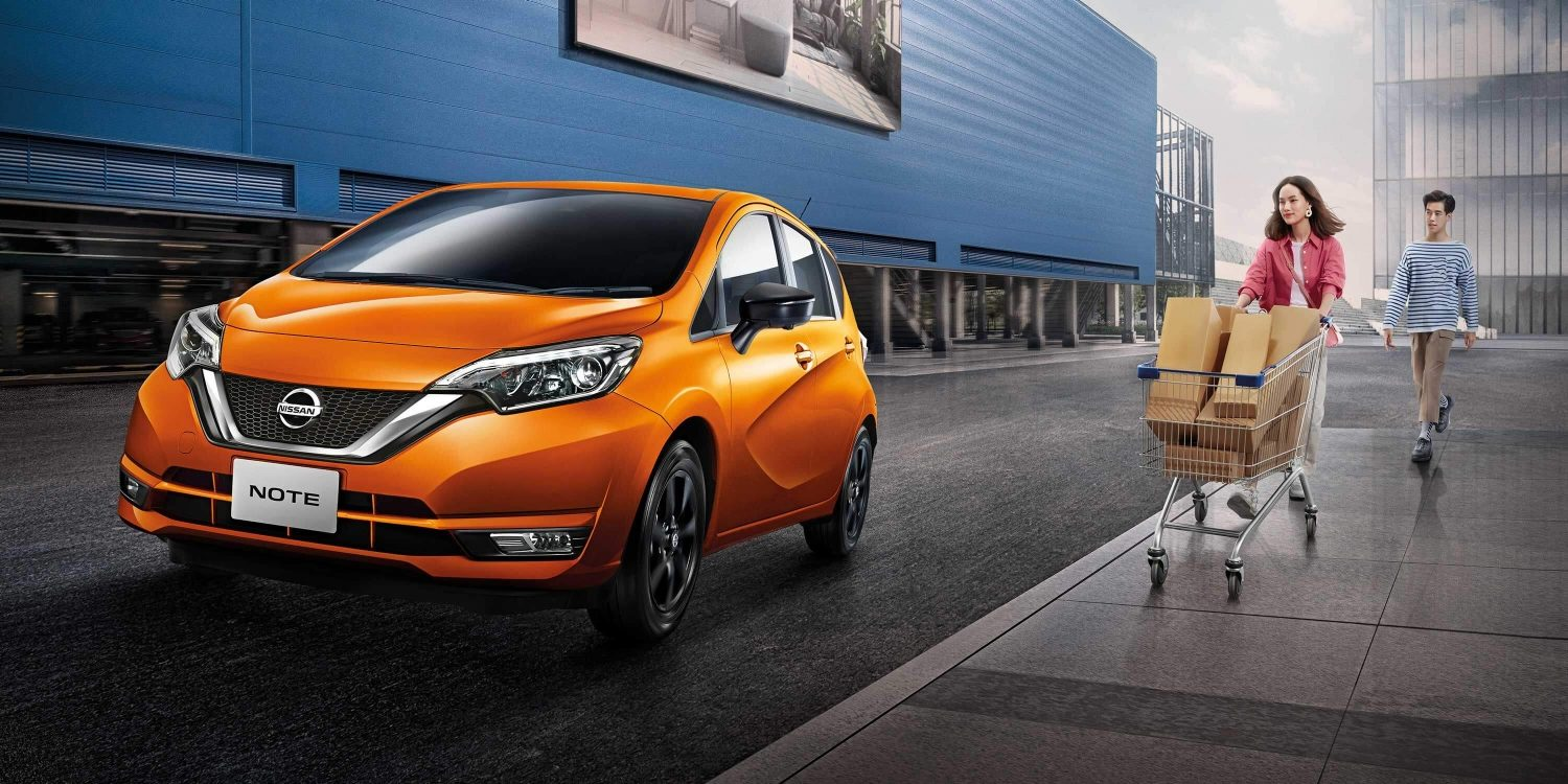 NEW NISSAN NOTE READY FOR THE UNEXPECTED